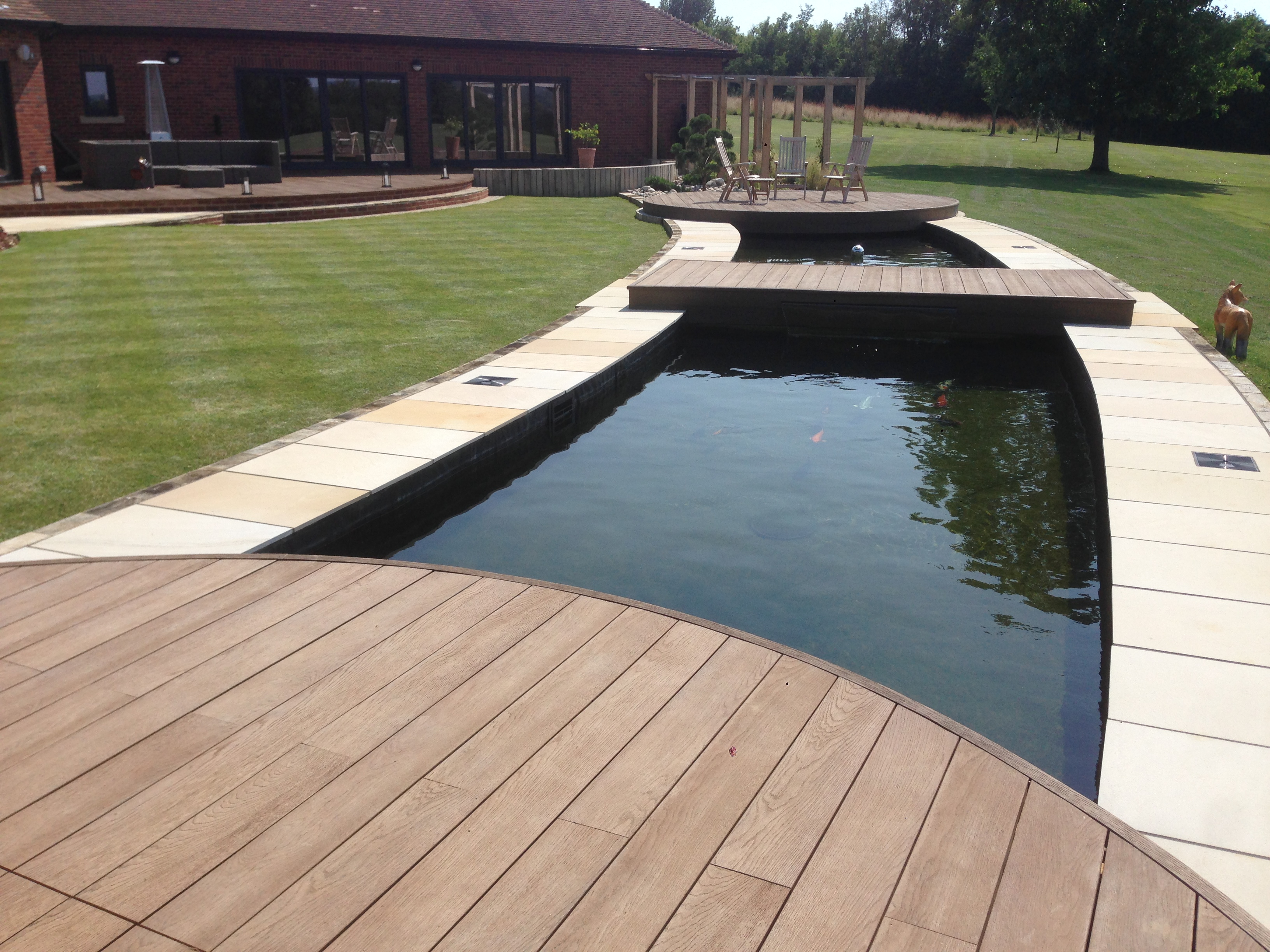 Essex koi pond design and build the pond specialist for Koi pool design