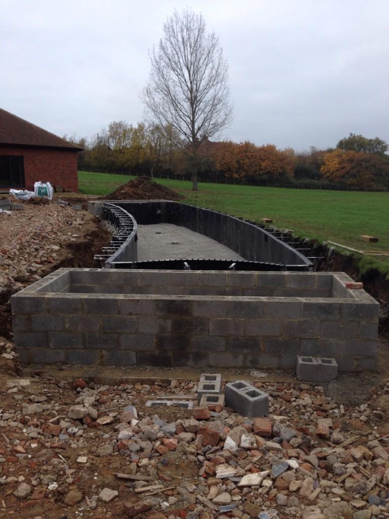 koi pond construction