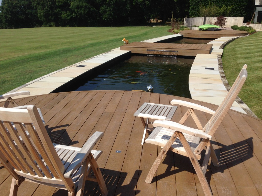 Essex koi pond design and build the pond specialist for Concrete fish pond construction and design